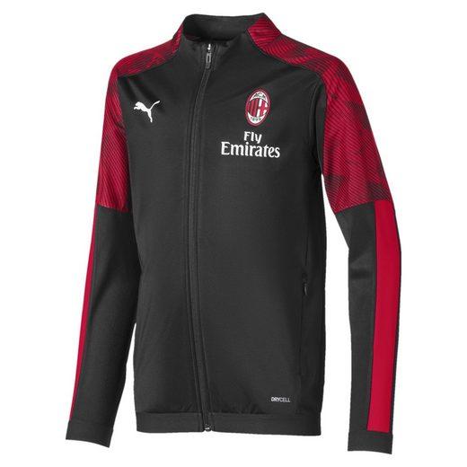 PUMA Trainingsjacke »AC Milan Jungen Poly Jacke«