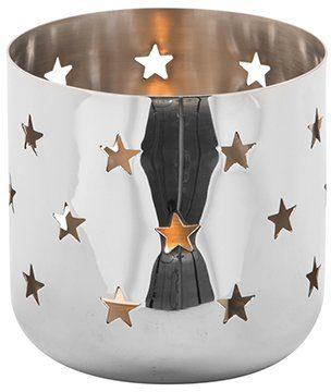 Fink Teelichthalter »LUCY« (Set, 2 Stück), mit ausgestanzten Sternen