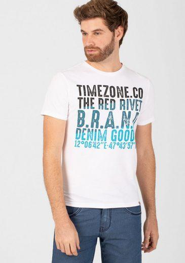 TIMEZONE T-Shirt »Red Rivet T-Shirt«