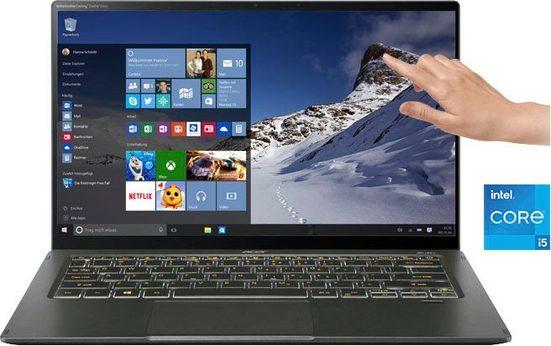 Acer Swift 5 SF514-55T-546P Notebook (35,56 cm/14 Zoll, Intel Core i5 1135G7, Iris Xe Graphics, 1000 GB SSD, Kostenloses Upgrade auf Windows 11, sobald verfügbar)