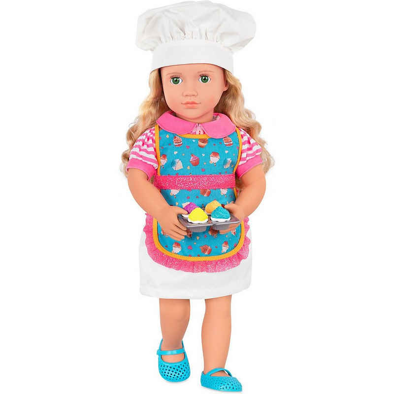 Our Generation Anziehpuppe »Deluxe Puppe Konditorin Jenny 46cm«