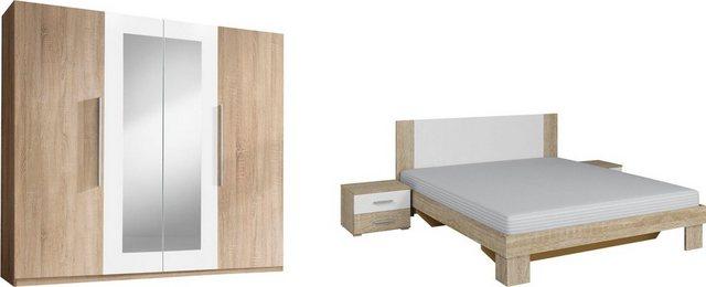 Schlafzimmer Sets - Schlafzimmer Set »Vera«, (4 tlg)  - Onlineshop OTTO