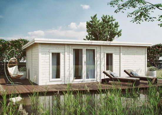 Kiehn-Holz Gartenhaus »Schmalsee«, BxT: 787x446 cm, inkl. Fußboden
