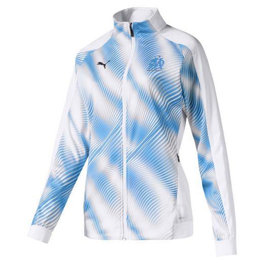 PUMA Softshelljacke »Olympique de Marseille Damen Stadium Jacke«