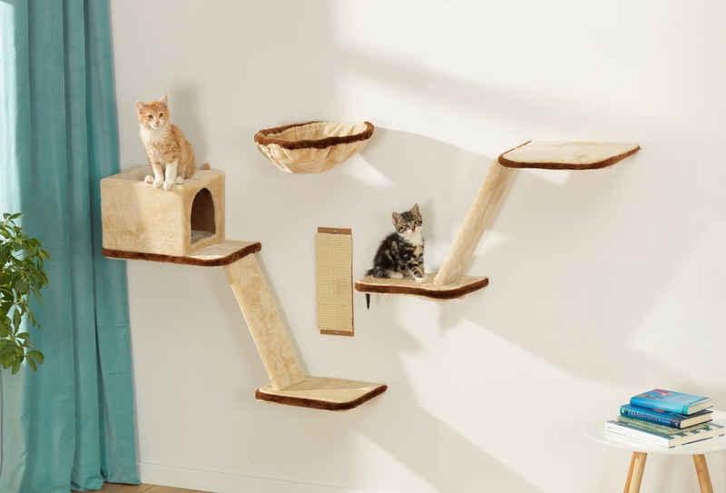 SILVIO design Katzen-Kletterwand, 8-tlg.