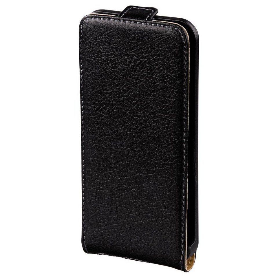 Hama Flap-Tasche Smart Case für Apple iPhone 5/5s/SE, Schwarz in Schwarz