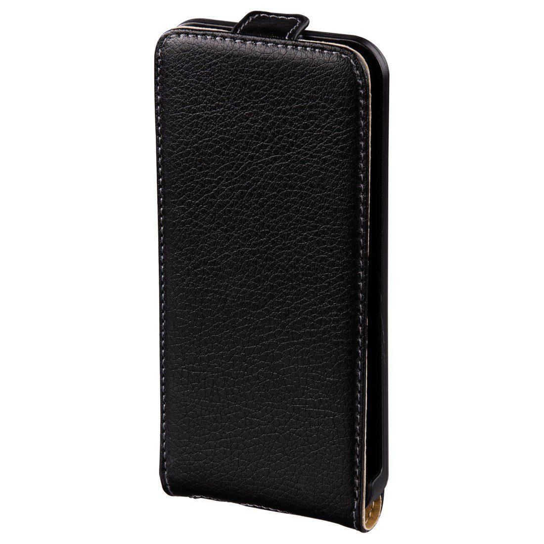 Hama Flap-Tasche Smart Case für Apple iPhone 5/5s/SE, Schwarz