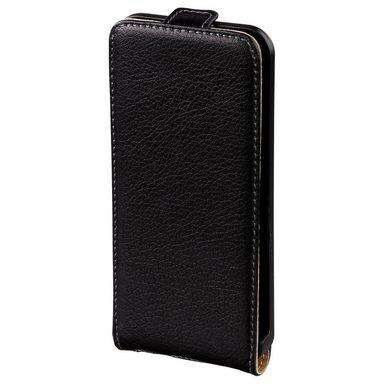 hama flap tasche smart case f r apple iphone 5 5s se schwarz online kaufen otto. Black Bedroom Furniture Sets. Home Design Ideas