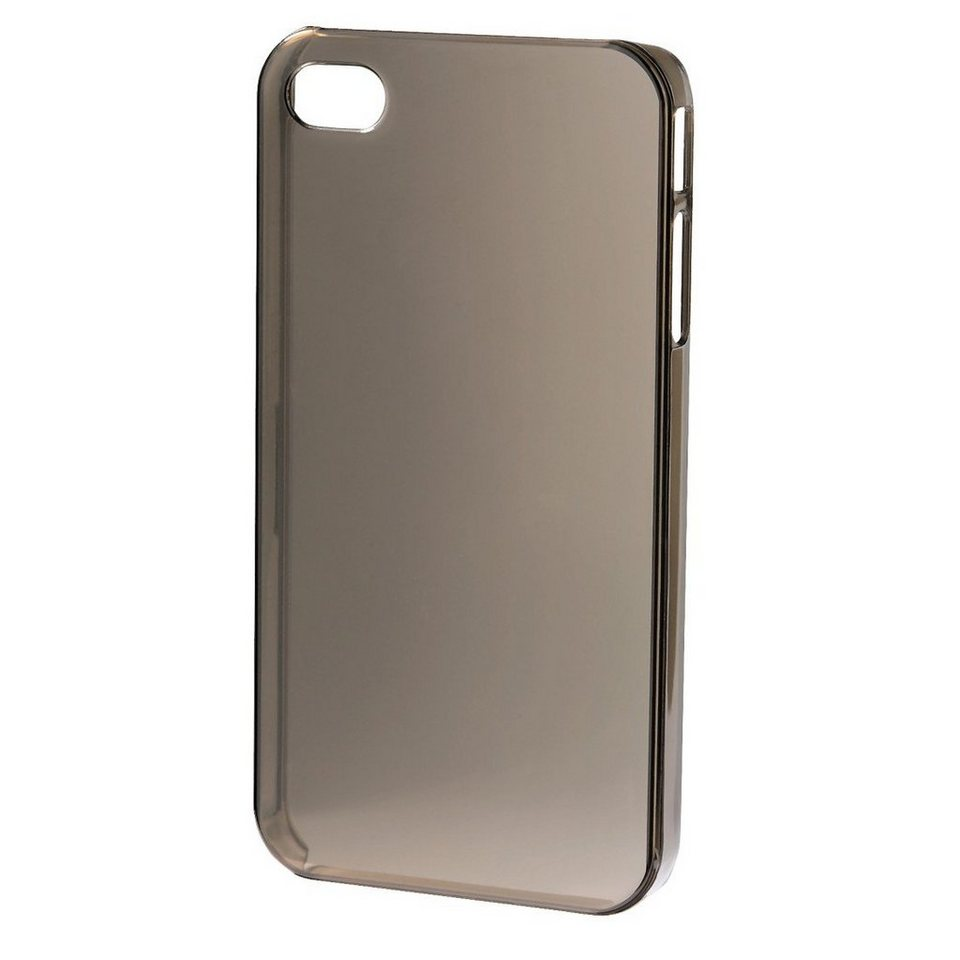Hama Handy-Cover Crystal für Apple iPhone 5/5s/SE, Grau in Grau