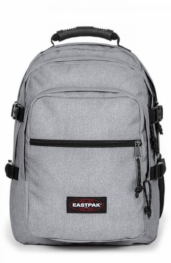Eastpak Laptoprucksack »WALF, Sunday Grey«, enthält recyceltes Material (Global Recycled Standard)