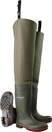 Dunlop_Workwear »Watstiefel« Watstiefel Sicherheitsklasse S5, mit Befestigungsschlaufe