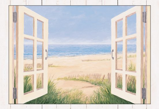 Home affaire Kunstdruck »Spring Day Morning«, 112,4/82,4 cm