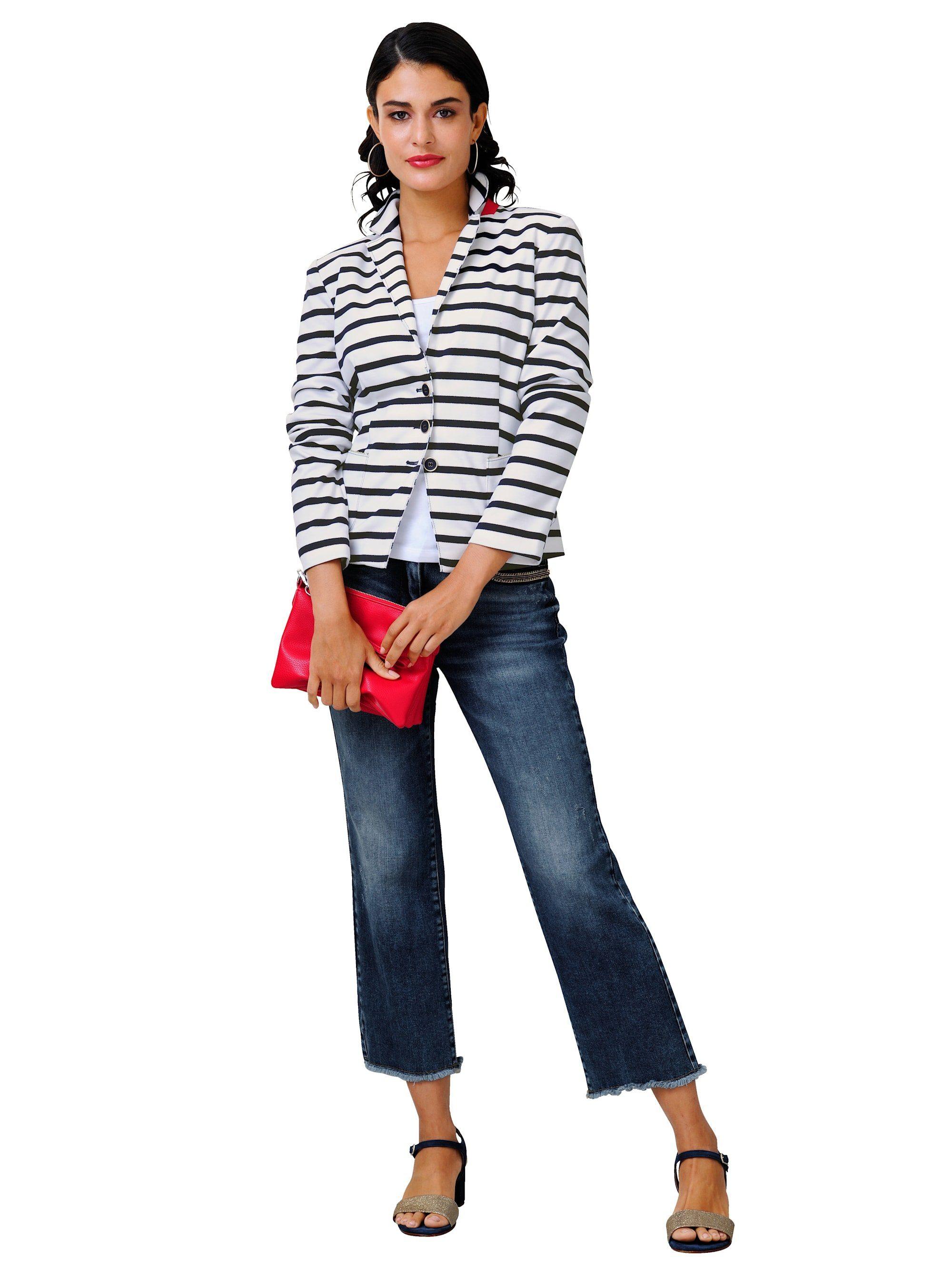 Alba Moda Jeans in modischer Culotte-Form kaufen