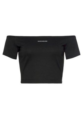Calvin Klein Jeans Calvin KLEIN Džinsai Marškinėliai be r...