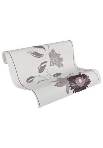 DANIEL HECHTER Tapetai » floral« dryžuota geblümt abs...