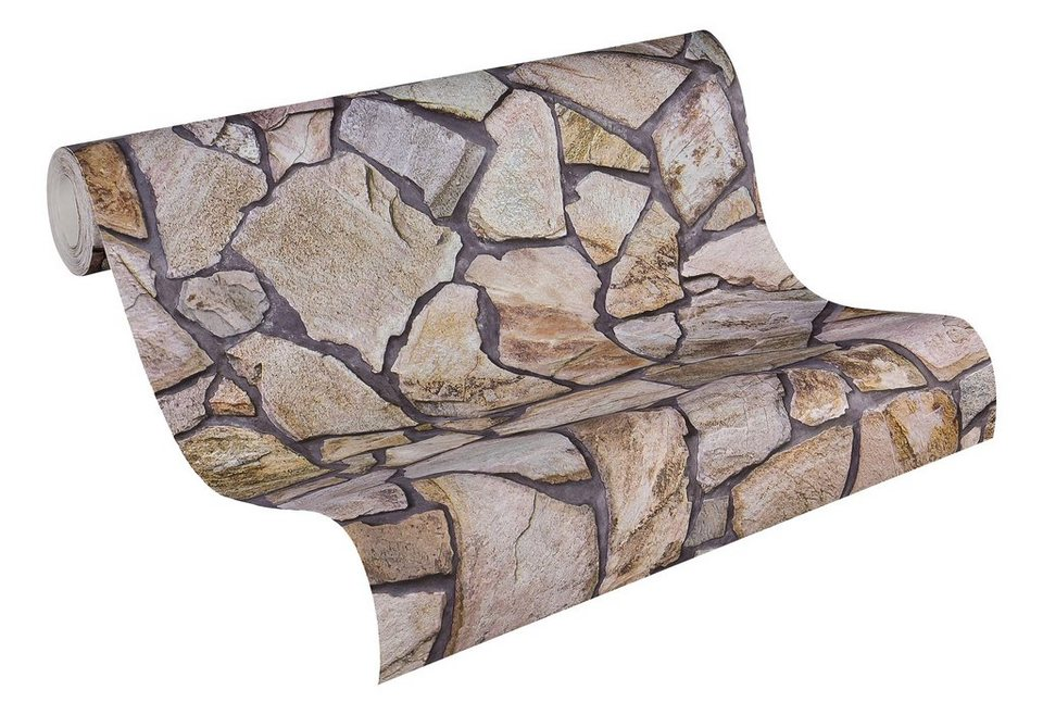 vliestapete livingwalls natursteintapete otto. Black Bedroom Furniture Sets. Home Design Ideas