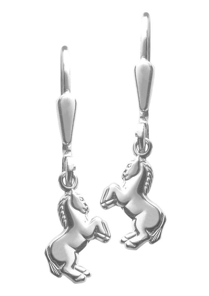 firetti Ohrschmuck: Paar Ohrhänger »Pferd« in Silber 925
