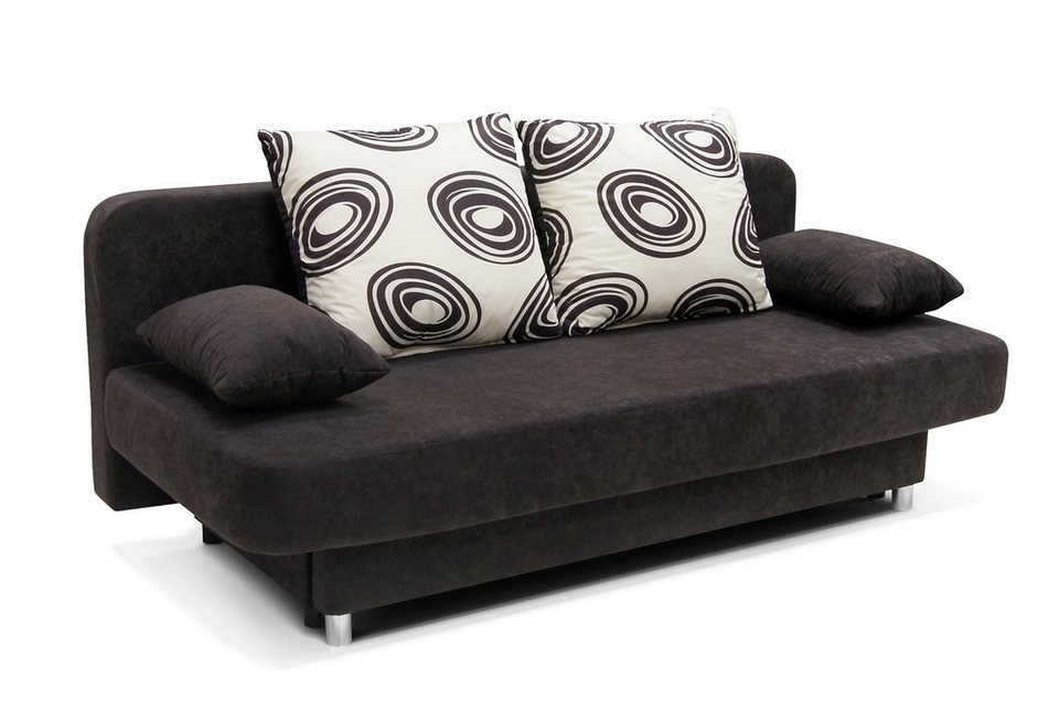 schlafsofa wahlweise mit federkern online kaufen otto. Black Bedroom Furniture Sets. Home Design Ideas