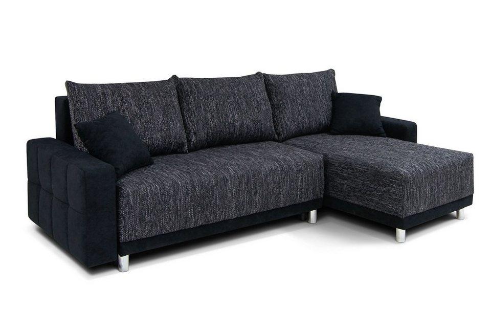 polsterecke mit bettfunktion online kaufen otto. Black Bedroom Furniture Sets. Home Design Ideas