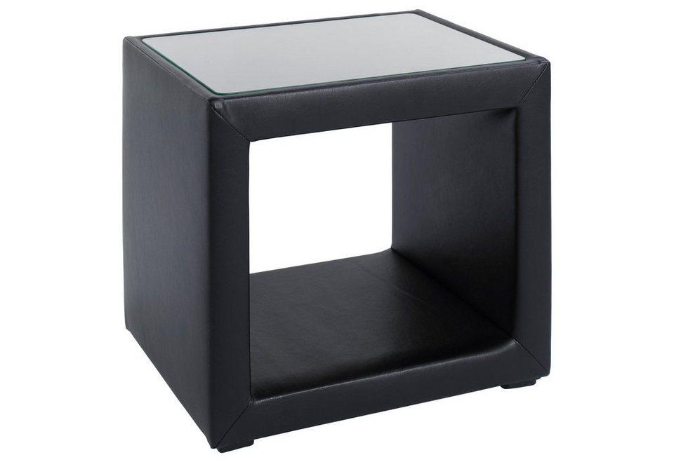 INOSIGN Nachttisch in schwarz