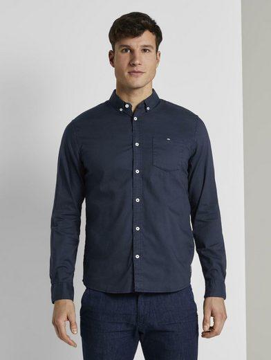 TOM TAILOR Langarmhemd »Oxford Hemd«