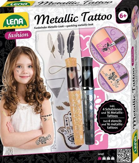 Lena® Schmuck-Tattoo »Metallic-Tattoos«