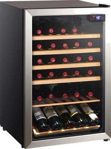 Hanseatic Weinkühlschrank HWC45FCBH, für 45 Standardflaschen á 0,75l