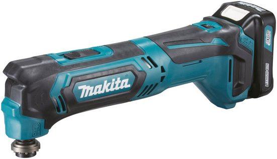 Makita Akku-Multifunktionswerkzeug »TM30DY1JX5«, 10.8 in V, Set, 41-St., 10,8 V, inkl. Akku