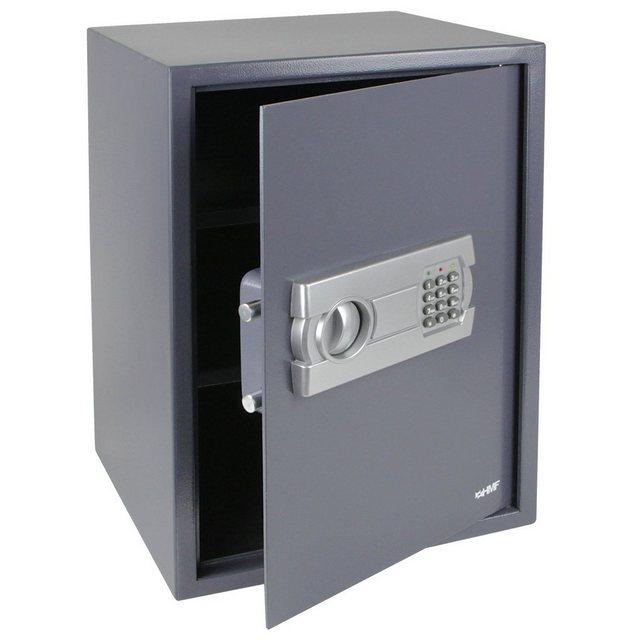 HMF Möbeltresor »Elektronikschloss«, Safe, 50 x 35 x 31 cm, Anthrazit