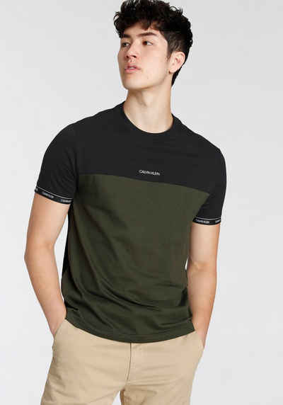 Calvin Klein T-Shirt »Stripe Cuff«