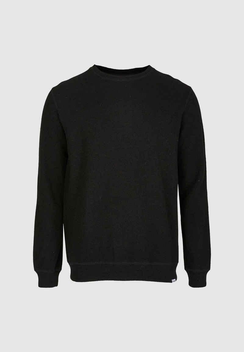 Cleptomanicx Sweatshirt »Noitch« aus gebondeter Wolle
