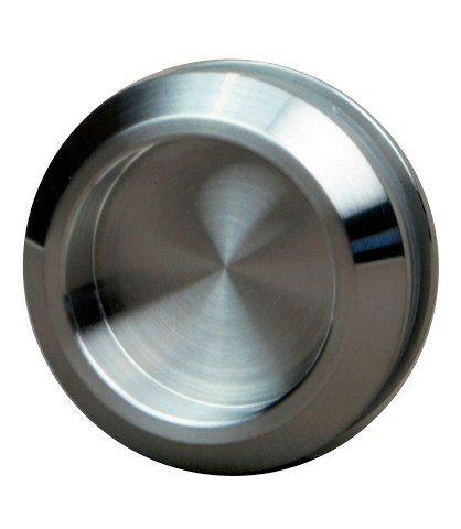 Dorma Glasschiebetür Agile 50, 4 Streifen mit Muschelgriff, weiß