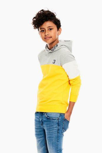 Garcia Sweater mit Colourblock
