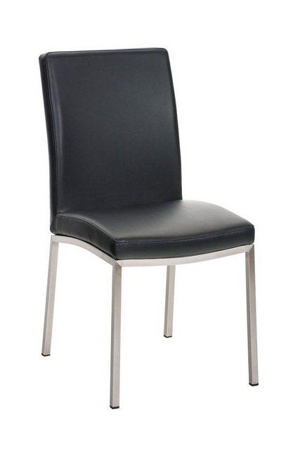 Stühle und Bänke - CLP Esszimmerstuhl »Grenoble Kunstleder« mit Edelstahlgestell  - Onlineshop OTTO