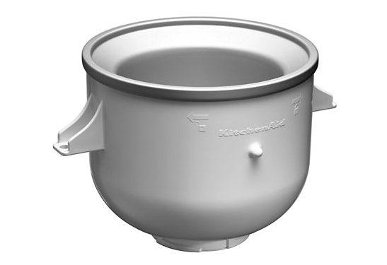 KitchenAid® Artisan Speiseeisschüssel 5KICA0WH, passend für verschiedene Kitchen Aid Modelle