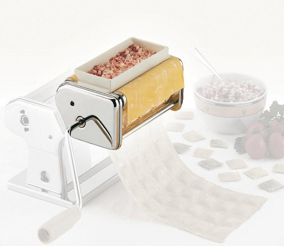 Küchenprofi Raviolini-Vorsatz »by Marcato« in Silber