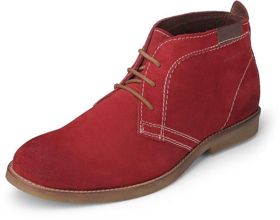 Belmondo Schnür-Boot in rot