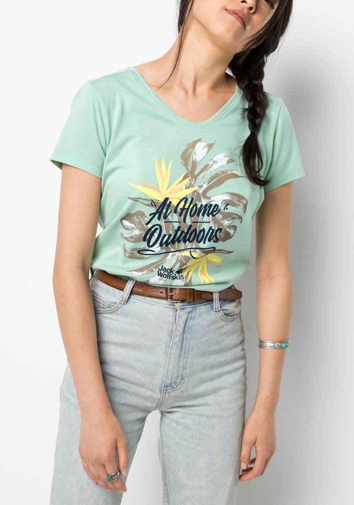 Jack Wolfskin T-Shirt »AT HOME T W«