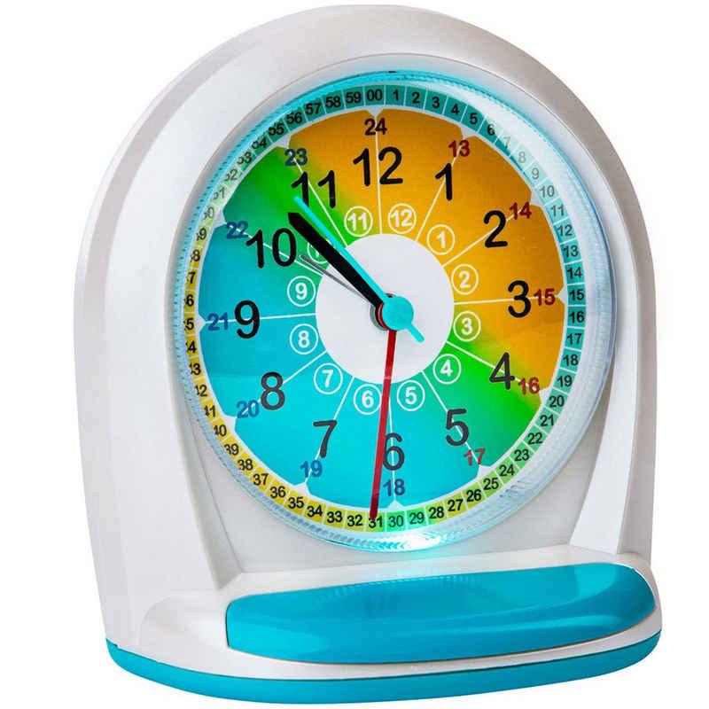ONVAYA Uhr »Kinderwecker ohne Ticken für Jungen und Mädchen, Quarzwecker mit Licht und Schlummerfunktion, Analoger Lernwecker mit großen Zahlen«