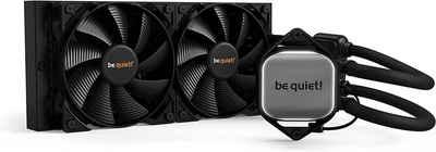 be quiet! Wasserkühlung »PURE LOOP BW006«, 240mm, All-in-One Wasserkühlungssystem mit Pure Wings 2 120mm PWM-Lüfter, PC, Watercooling, schwarz