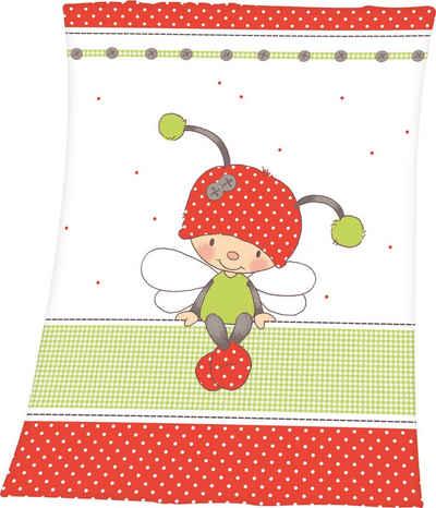Babydecke »Käferchen«, Baby Best, mit niedlichem Käferchen Motiv