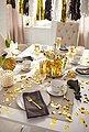 Guido Maria Kretschmer Home&Living Kaffeeservice »Golden Line« (18-tlg), Porzellan, handbemalter Goldrand, Bild 3