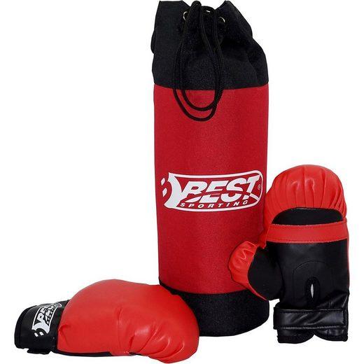Best Sporting Boxsack »Box-Set für Kinder, Boxsack & Boxhandschuhe«