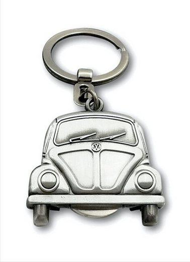 VW Collection by BRISA Schlüsselanhänger »VW Käfer«, Mit herausnehmbarem Einkaufswagenchip