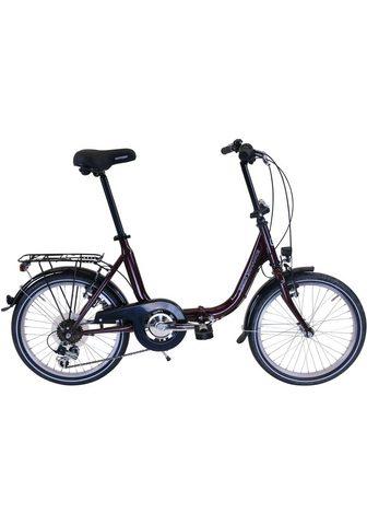 Performance Sudedamas dviratis 6 Gang Shimano TOUR...