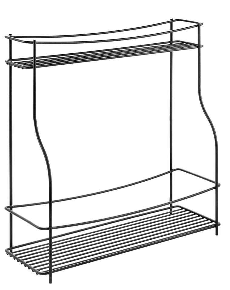 Metaltex Gewürzregal, 1-tlg., Industrial Look, 2 Ablageflächen