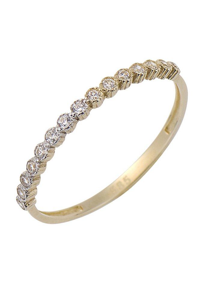 firetti Ring: Memoire / Vorsteckring in goldfarben