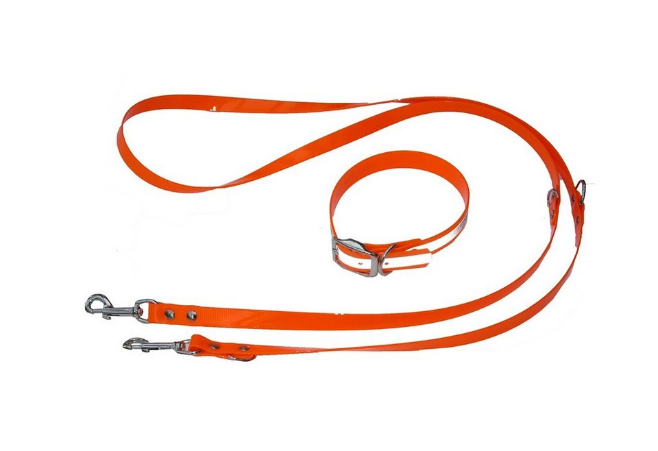 Hundeleine »Hiflex -Set« neonorange in neonorange
