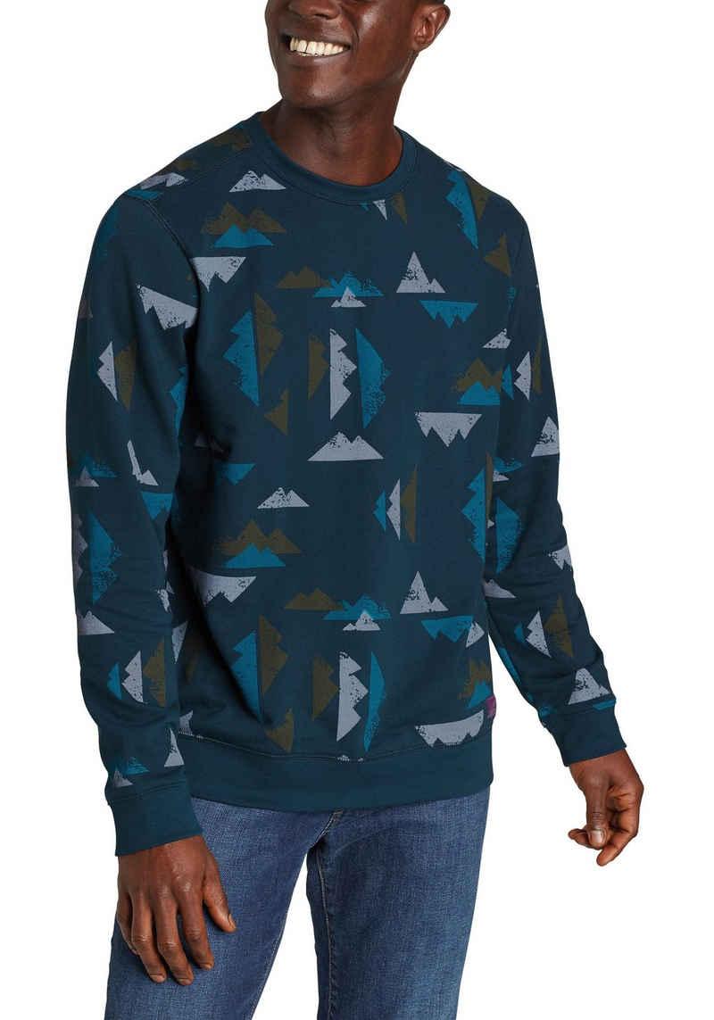 Eddie Bauer Sweatshirt Camp Fleece - Bedruckt