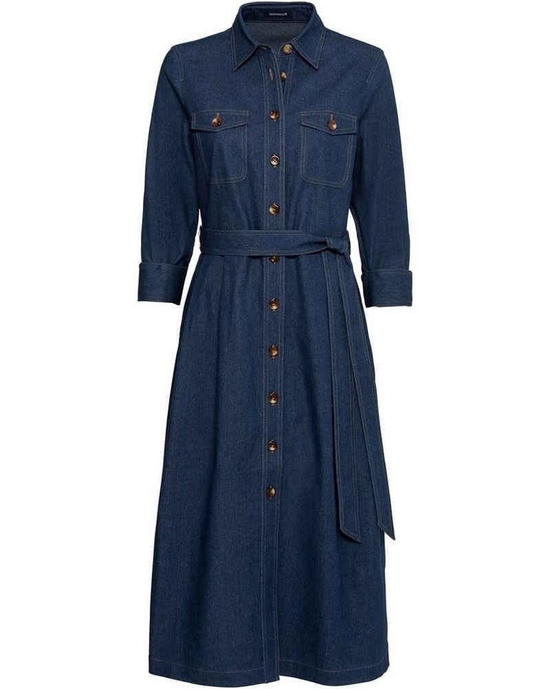 Highmoor Hemdblusenkleid »Jeanskleid im Hemdblusenstil«